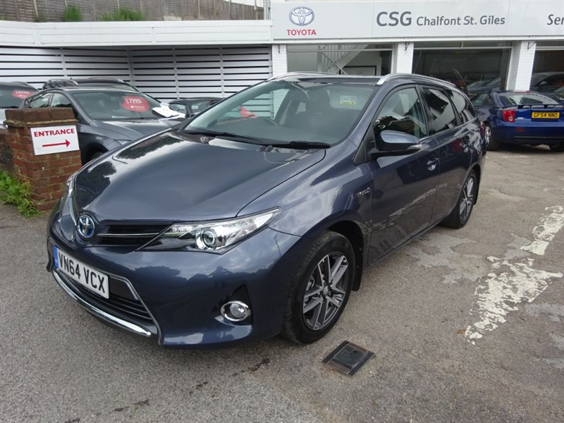 used Toyota Auris VVT-I ICON PLUS - CLIMATE - CRUISE - FTSH in amersham