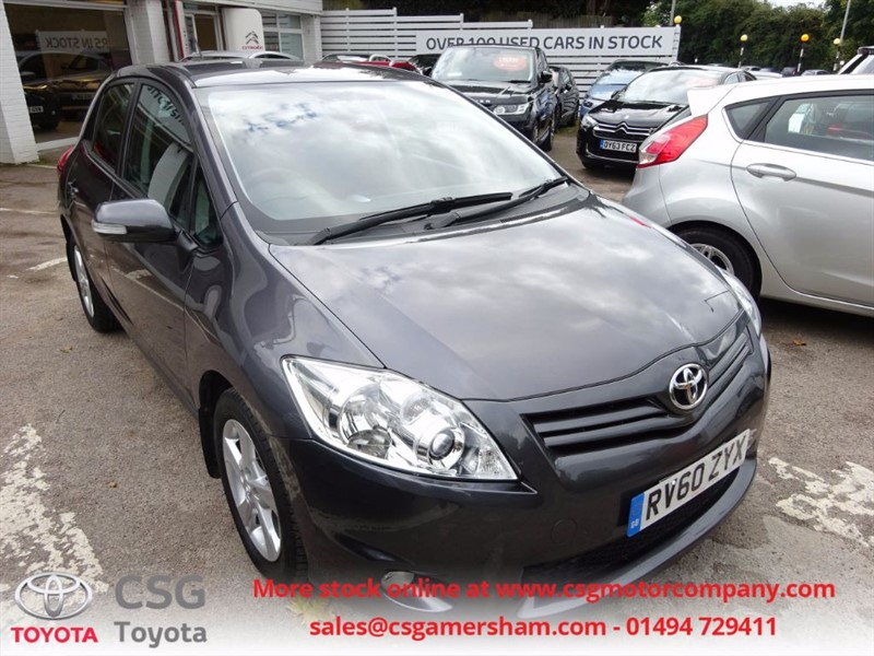 used Toyota Auris TR VALVEMATIC -FFSH -CLIMATE - in amersham