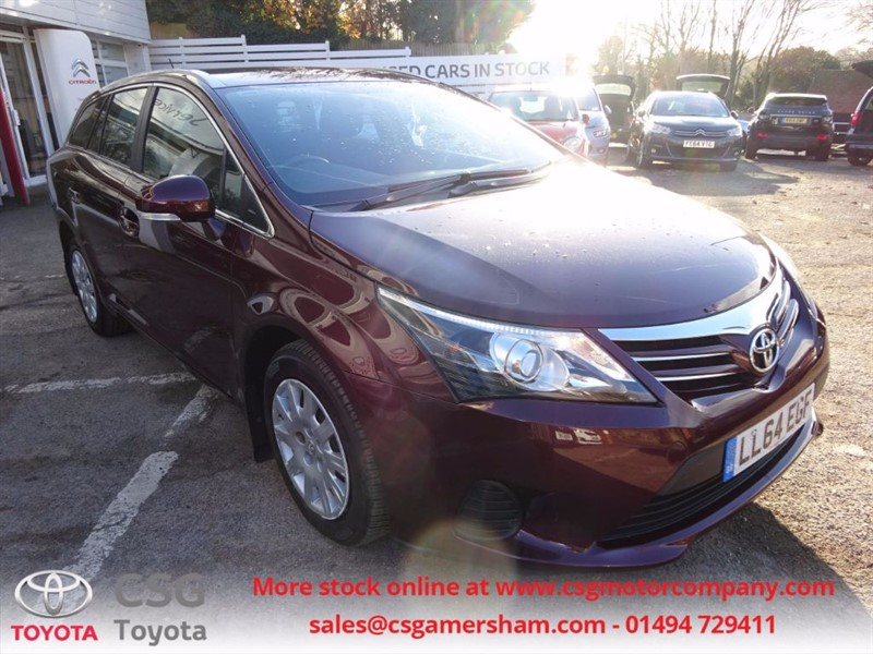 used Toyota Avensis D-4D ACTIVE - CLIMATE - FFSH - BLUETOOTH in amersham