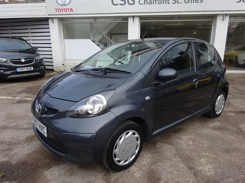 used Toyota Aygo VVT-I +TWENTY POUNDS TAX - INSURANCE in amersham