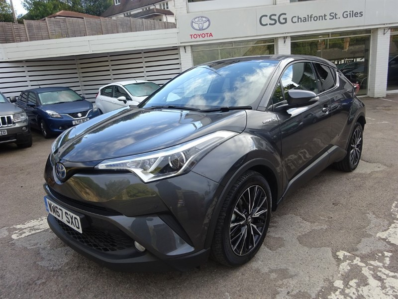 used Toyota C-HR EXCEL -SAT NAV - 1/2 LEATHER - FSH in amersham
