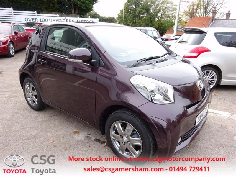used Toyota iQ VVT-I IQ2 £20 TAX - FFSH - in amersham