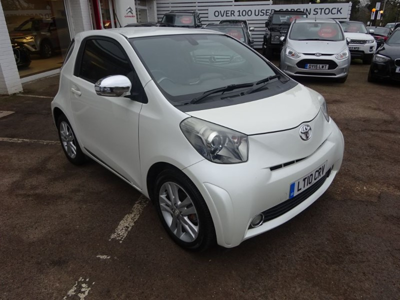 used Toyota iQ VVT-I IQ3 - LEATHER - CLIMATE - ALLOYS -£30 TAX!! in amersham