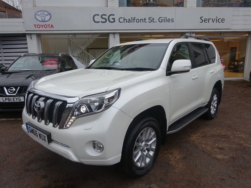 used Toyota Land Cruiser D-4D ICON - SAT NAV - H/LEATHER - FTSH in amersham