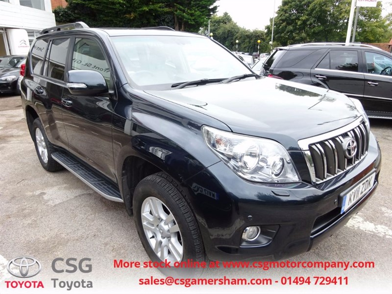 used Toyota Land Cruiser LC4 D-4D FFSH -7 SEATS -H/LEATHER- SAT NAV in amersham