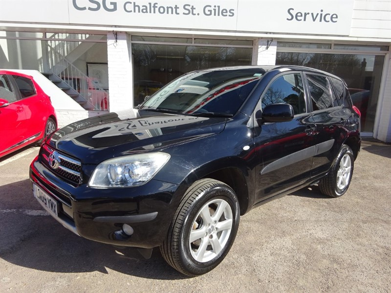 used Toyota RAV4 VVTI XTR - AIR CON - SUNROOF - CRUISE- R/SENSORS in amersham