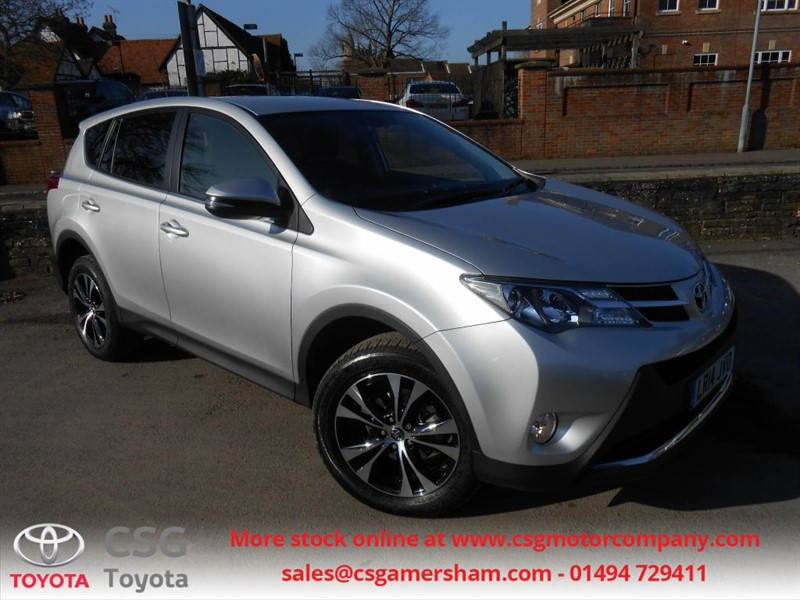 used Toyota RAV4 VVT-I ICON AWD AUTO - HEATED LEATHER - SAT NAV - FSH - BLUETOOTH - DAB in amersham