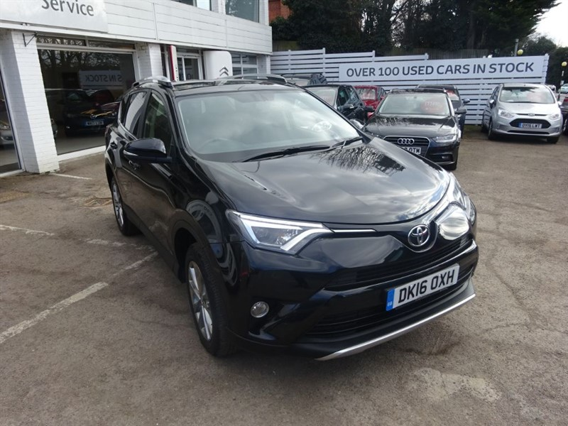 used Toyota RAV4 RAV-4 VVT-I EXCEL AWD - SAT NAV -H/LEATHER -FTSH in amersham
