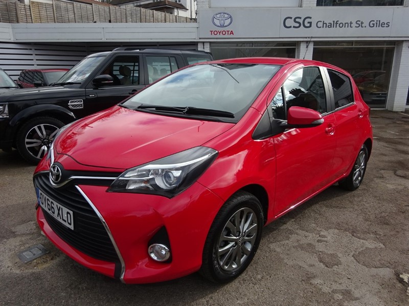 used Toyota Yaris VVT-I ICON - BLUETOOTH - CAMERA - ALLOYS in amersham