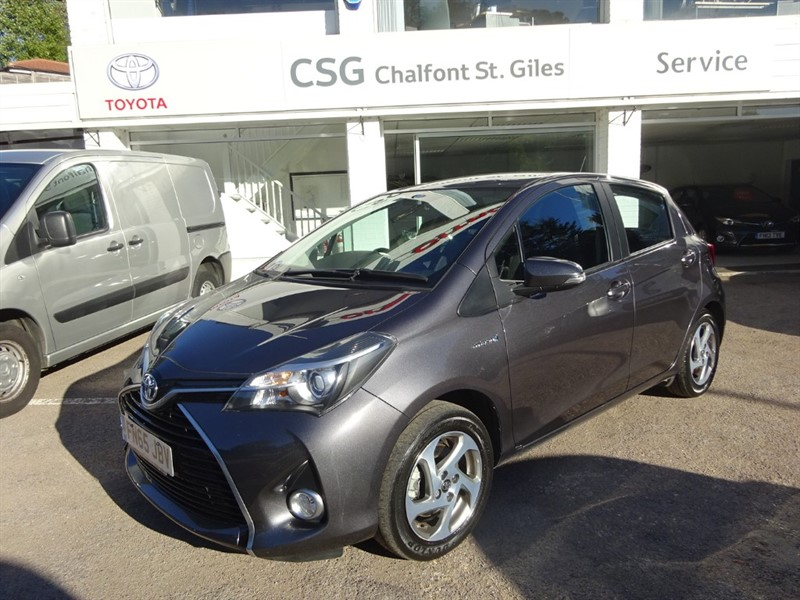 used Toyota Yaris VVT-I ICON - ZERO TAX - SAT NAV - R/CAMERA - BLUETOOTH in amersham
