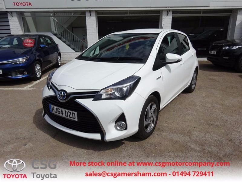 used Toyota Yaris HYBRID ICON AUTO - FREE ROAD TAX - AC - CD - ALLOYS in amersham