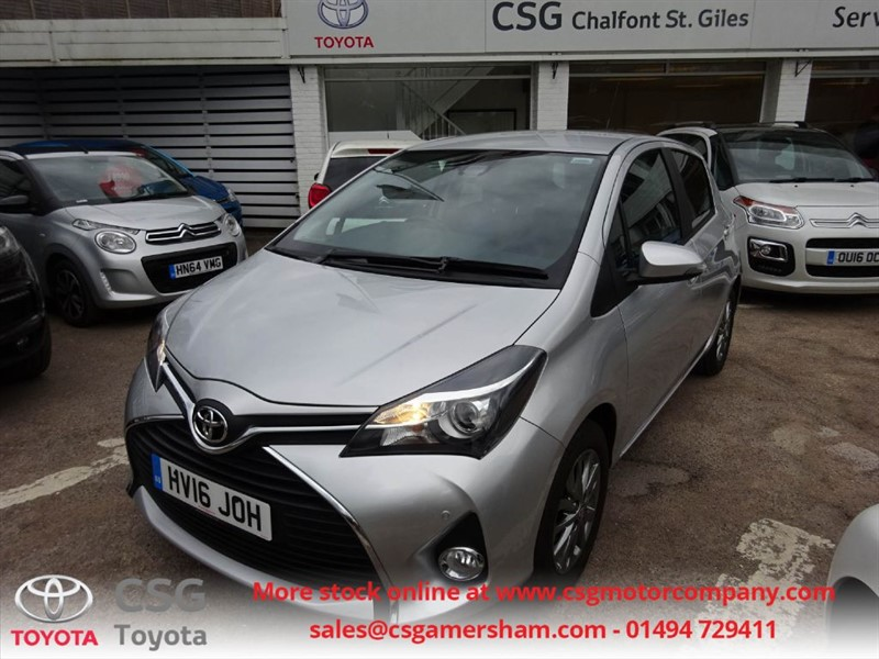 used Toyota Yaris VVT-I ICON M-DRIVE S  AUTO - TSS - ONE OWNER - DAB - REAR CAMERA in amersham