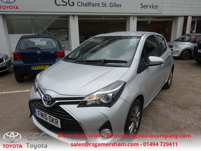 used Toyota Yaris VVT-I ICON - FSH - ONE OWNER - AC - REAR CAMERA - ALLOYS in amersham