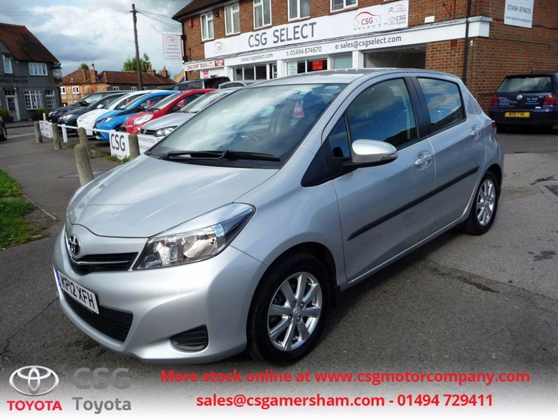 used Toyota Yaris VVT-I TR - FTSH - AC - BLUETOOTH - REAR CAMERA - CHEAP TAX in amersham