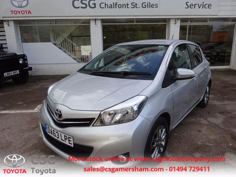 used Toyota Yaris VVT-I ICON PLUS -FFSH - P/CAMERA - CLIMATE CONTROL in amersham