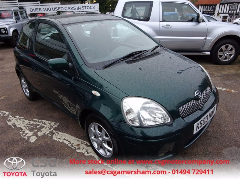 used Toyota Yaris T SPIRIT VVT-I AUTO - AC - CD - SUNROOF - ALLOYS in amersham