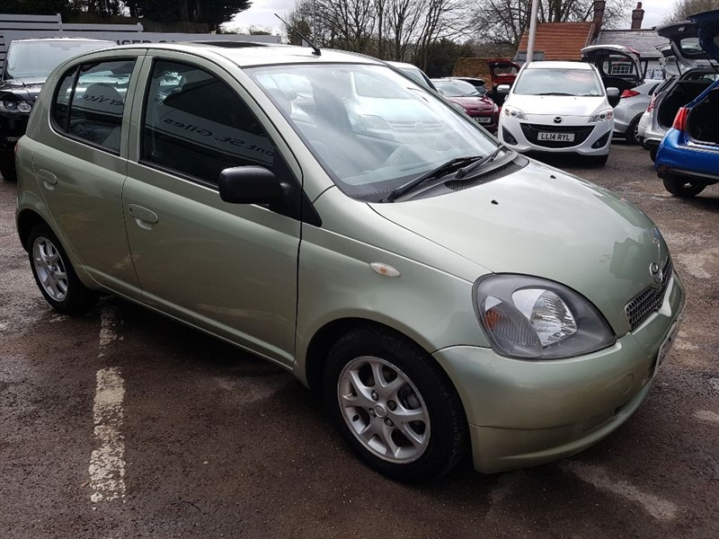 used Toyota Yaris CDX VVT-I - AIR CON - ALLOYS - in amersham
