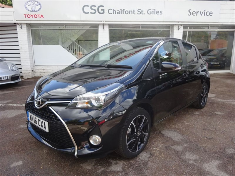 used Toyota Yaris VVT-I DESIGN M-DRIVE S - SAT NAV - FSH - BLUETOOTH - CAMERA in amersham