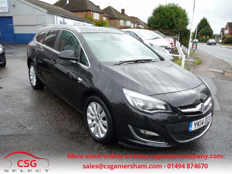 used Vauxhall Astra ELITE CDTI AUTO - FSH - HEATED LEATHER - CLIMATE - FRONT/REAR SENSORS in amersham
