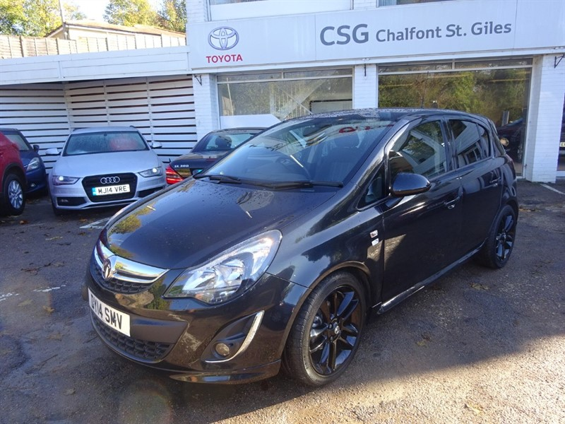 used Vauxhall Corsa LIMITED EDITION - AIR CON - BLACK ALLOYS - in amersham