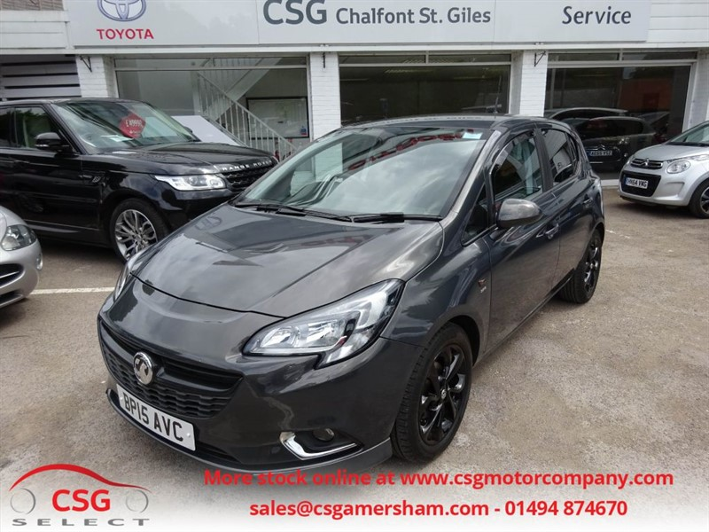 used Vauxhall Corsa SRI ECOFLEX - FVSH - MULTIMEDIA - ALLOYS in amersham