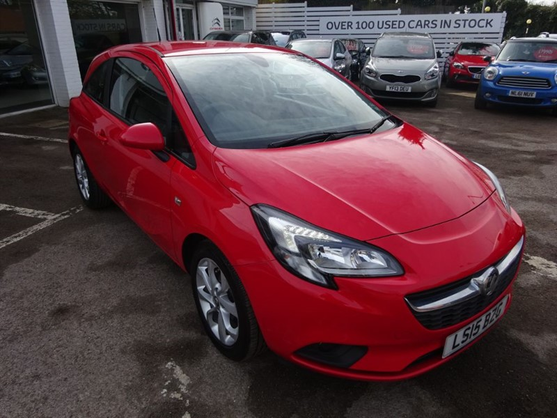 used Vauxhall Corsa EXCITE AC ECOFLEX - FSH - H/SEATS - AIR CON in amersham