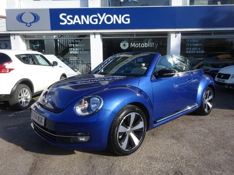 used VW Beetle SPORT TSI - SAT NAV - H/LEATHER -FVSH in amersham