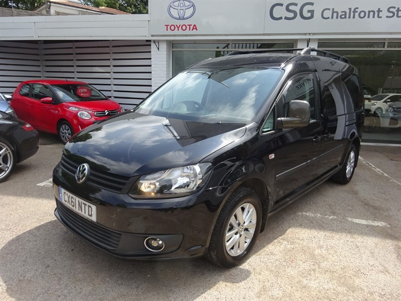 used VW Caddy Maxi C20 TDI HIGHLINE - NO VAT -AIR CON - FVSH - BLUETOOTH in amersham
