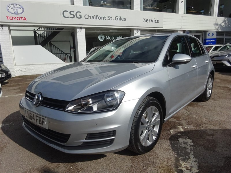 used VW Golf SE TSI BLUEMOTION TECHNOLOGY - FSH -PARKING SENSORS - CLIMATE in amersham