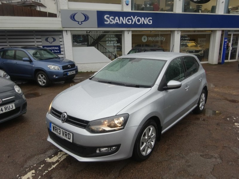 used VW Polo MATCH - AIR CON - ALLOYS - R/SENSORS -FVWSH in amersham