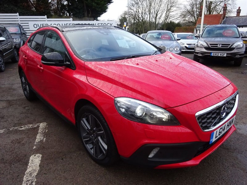 used Volvo V40 T5 CROSS COUNTRY LUX NAV AWD - P/ROOF -FVSH - H/LEATHER - in amersham