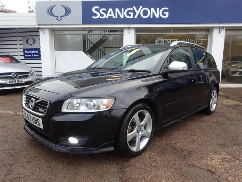 used Volvo V50 D2 R-DESIGN EDITION - FSH -R/SENSORS -LEATHER -CLIMATE in amersham