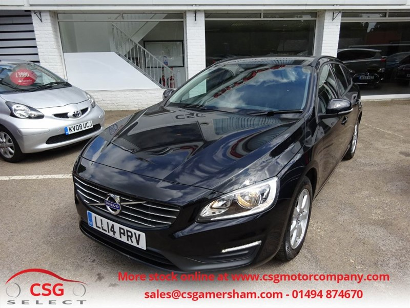 used Volvo V60 D4 BUSINESS EDITION - FVSH - NAV - BLUETOOTH - ALLOYS in amersham