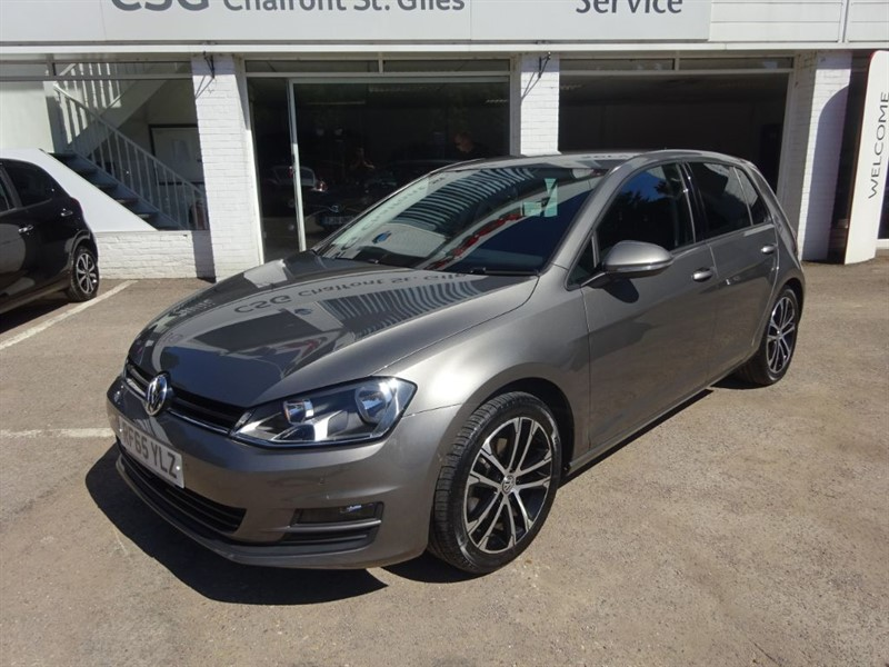 used VW Golf MATCH TSI BLUEMOTION TECHNOLOGY -  SAT NAV - R/SENSORS - FVWSH - ALLOYS in amersham