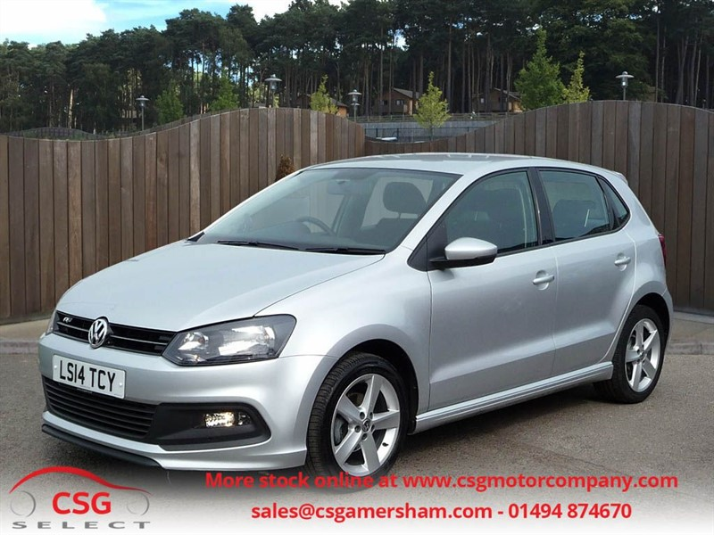 used VW Polo R-LINE STYLE AC - FVWSH - AC - CD - ALLOYS in amersham