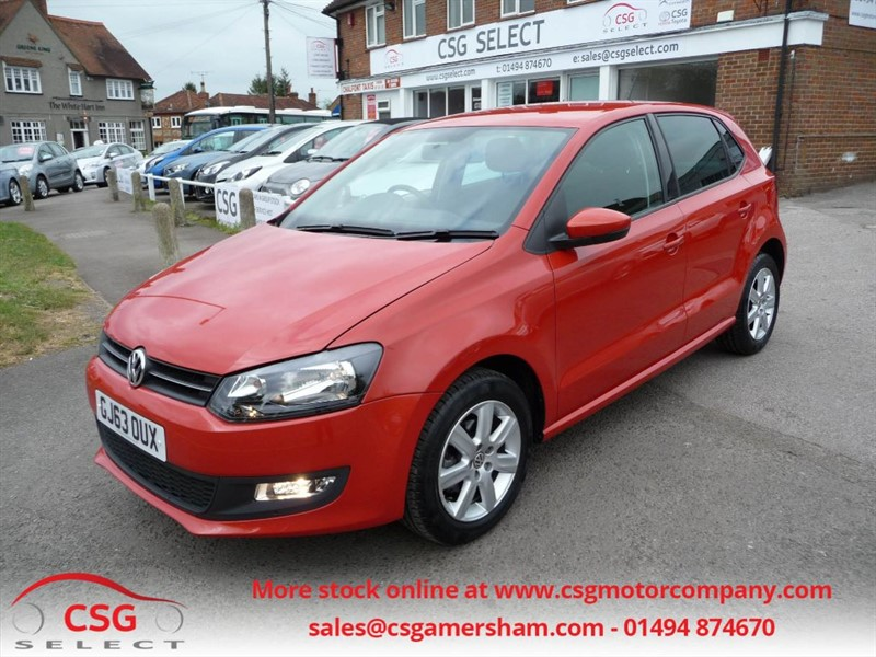 used VW Polo MATCH EDITION - LOW MILEAGE - AC - BLUETOOTH - PARKING SENSORS in amersham