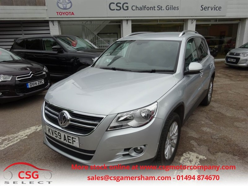 used VW Tiguan SE TDI 4MOTION AUTO - FVWSH - AC - ALLOYS - PARK ASSIST in amersham