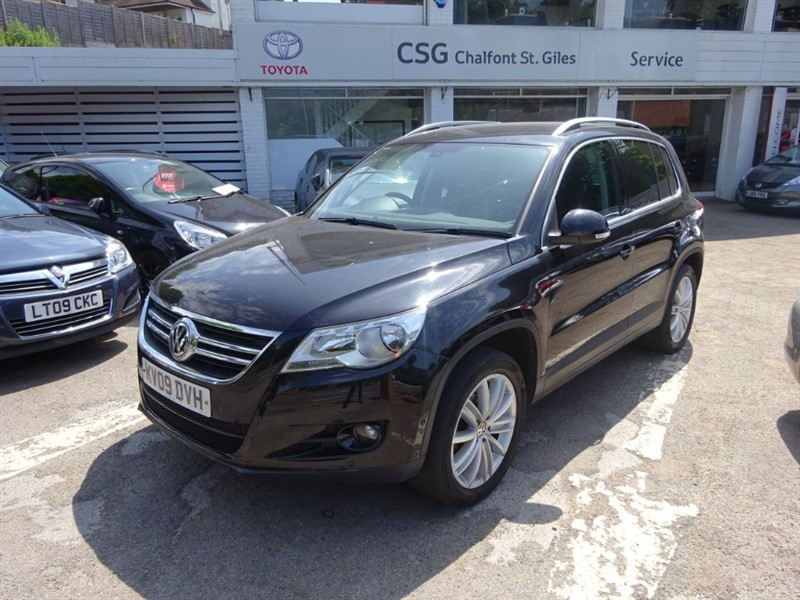 used VW Tiguan SPORT TSI - H/LEATHER - PDC - FSH - in amersham