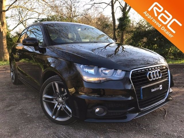 used Audi A1 TFSI S LINE MATTE SILVER ROOF in Hitchin-Hertfordshire