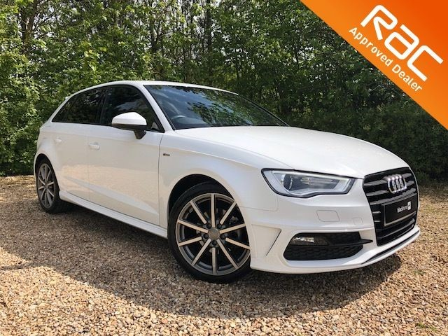 used Audi A3 S LINE for sale in Hitchin-Hertfordshire