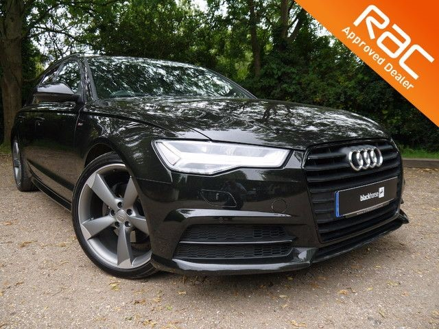 used Audi A6 Avant TDI ULTRA S LINE BLACK EDITION in Hitchin-Hertfordshire