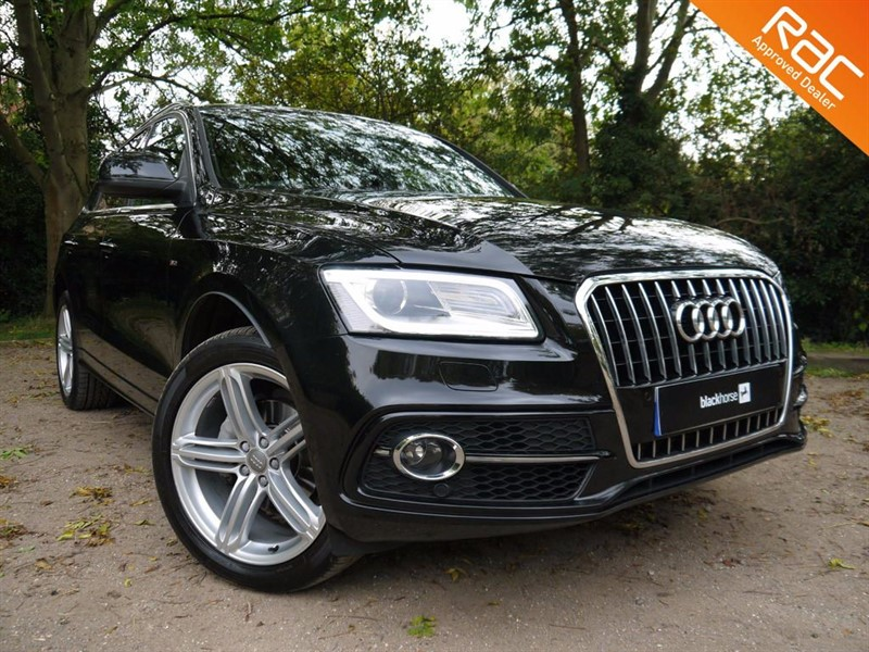 used Audi Q5 TDI QUATTRO S LINE PLUS in Hitchin-Hertfordshire