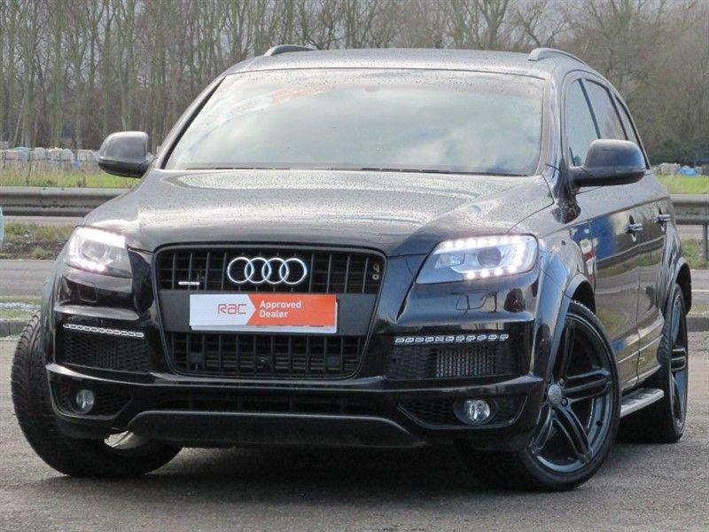 used Audi Q7 TDI QUATTRO S LINE PLUS in Hitchin-Hertfordshire