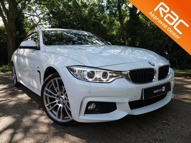 used BMW 420d XDRIVE M SPORT GRAN COUPE for sale in Hitchin Hertfordshire in Hitchin-Hertfordshire