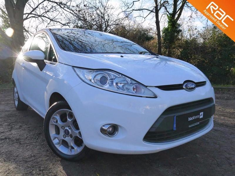 used Ford Fiesta ZETEC in Hitchin-Hertfordshire
