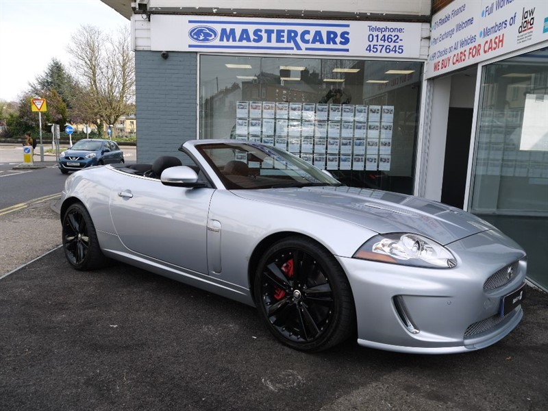 used Jaguar XKR 5.0 V8 Supercharged Convertible in Hitchin-Hertfordshire