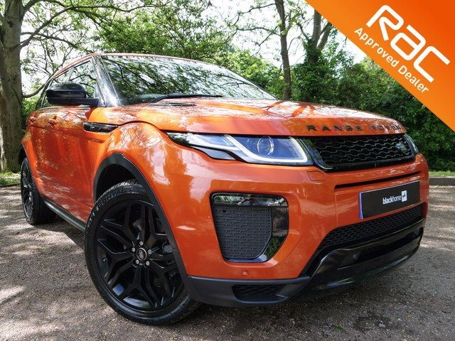 used Land Rover Range Rover Evoque TD4 HSE DYNAMIC (VAT QUALIFYING) in Hitchin-Hertfordshire
