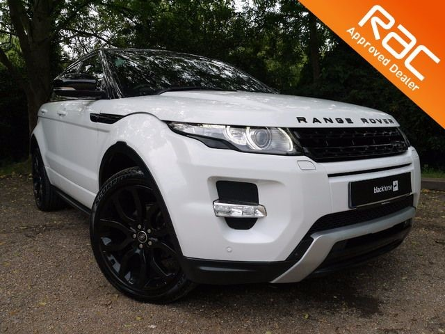 used Land Rover Range Rover Evoque SD4 DYNAMIC LUX in Hitchin-Hertfordshire