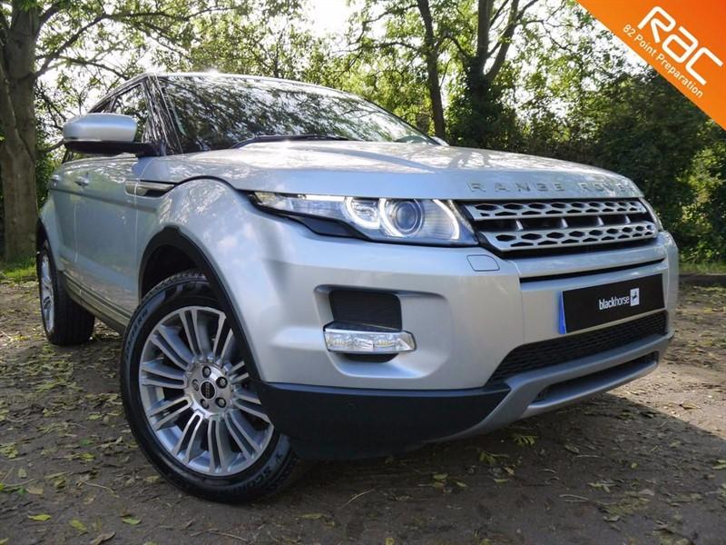 used Land Rover Range Rover Evoque SD4 PRESTIGE in Hitchin-Hertfordshire