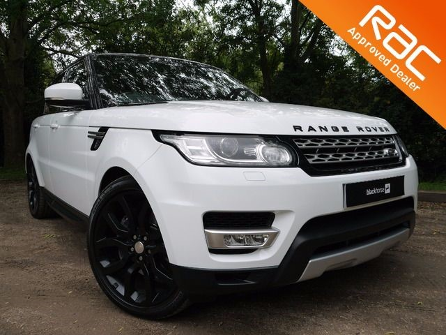 used Land Rover Range Rover Sport White Range Rover Sport For Sale in Hitchin-Hertfordshire